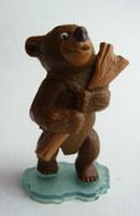 FIGURINE PUBLICITAIRE NESTLE NESQUICK FRERE DES OURS 2003 Kenai - Figurines
