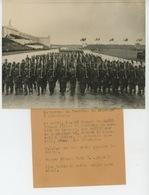 """PHOTOGRAPHIE ORIGINALE FRANCE PRESSE -1938- ALLEMAGNE - NÜREMBERG - Défilé Du """"SERVICE DU TRAVAIL"""" Devant HITLER - War, Military"""