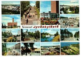 JYVASKYLA  SUOMI FINLAND - TERVEISET - Finlandia