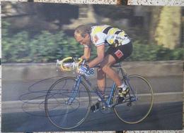 CARTE POSTALE LAURENT FIGNON DEDICACEE AUTOGRAPHE - Cyclisme