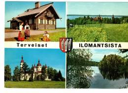 ILOMANTSI  SUOMI FINLAND - RUNOLAULAJAN PIRTTI - TERVEISET - ILOMANTSISTA - Finlandia