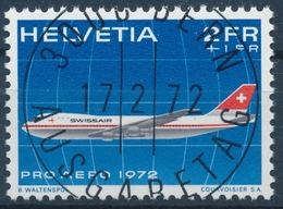 F47 / 968 Pro Aero Mit ET-Vollstempel & Gummi - Used Stamps