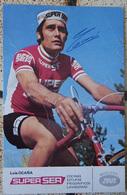 CARTE  LUIS OCANA SUPERSER DEDICACEE AUTOGRAPHE - Cyclisme