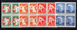 92/1500 - SVIZZERA 1932 , Pro Juventute Serie N. 263/266 : Quartina Integra  *** MNH - Francobolli