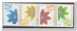 Nederland 2012, NVPH BZ37-BZ40, Postfris MNH, Flowers - Period 1980-... (Beatrix)