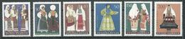 Yougoslavie YT N°982/987 Costumes Régionaux Neuf ** - 1945-1992 República Federal Socialista De Yugoslavia