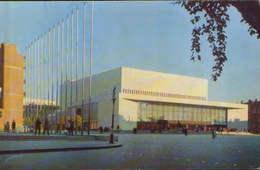 """Russia - Postcard Unused  - Leningrad - The """" Oktiabrsky """" Concert Hall - Russia"""