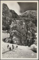 Einstieg Mit Randkluft, Dachstein, Steiermark, C.1930 - Alfred Gründler Foto AK - Austria