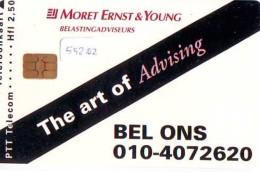 NEDERLAND CHIP TELEFOONKAART CRD 552.02 * MORET ERNST & YOUNG * Telecarte A PUCE PAYS-BAS ONGEBRUIKT MINT - Privé