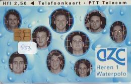 NEDERLAND CHIP TELEFOONKAART CRD 553 * Alphense Zwemclub Waterpoloteam * Telecarte A PUCE PAYS-BAS ONGEBRUIKT MINT - Privé