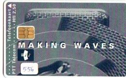 NEDERLAND CHIP TELEFOONKAART CRD 556 * MAKING WAVES * Telecarte A PUCE PAYS-BAS ONGEBRUIKT MINT - Privé
