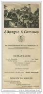 San Vincente Dels Horts - Albergue 4 Caminos - Faltblatt Mit 10 Abbildungen - Spain