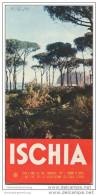 Ischia 50er Jahre - Faltblatt Mit 9 Abbildungen In Französischer Sprache - Italy