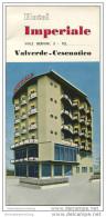 Valverde-Cesenatico - Hotel Imperiale - Faltblatt Mit 2 Abbildungen - Italy