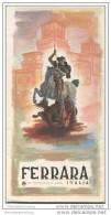 Ferrara - Faltblatt Mit 14 Abbildungen - Italy