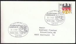 Germany Dortmund 1987 / Pigeon Olympics / 20. Brieftauben Olympiade - Stamps