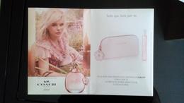 COACH Floral Parfum Carte Hard Paper - Modern (from 1961)