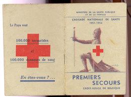 Carnet Croix Rouge  1951 - Autres Collections