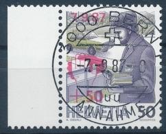 W66 / 1358 Zugunsten Der Unwettergeschädigten Mit ET-Vollstempel & Gummi - Suisse