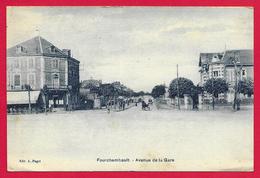 CPA Fourchambault - Avenue De La Gare - Autres Communes