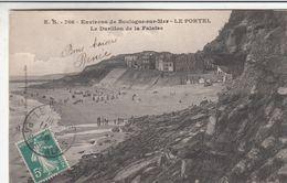 Cp , 62 , BOULOGNE-sur-MER , Environs , LE PORTEL , Le Durillon De La Falaise - Boulogne Sur Mer