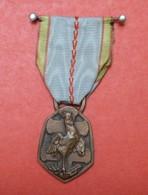 Médaille Commémorative Guerre 1939-1945 - Coq Et Croix, Gravée Par Simon - France