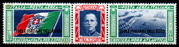 Italia-G-0070 - Egeo: Posta Aerea 1933 (sg) NG - Senza Difetti Occulti. - Aegean