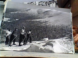 POLAND KARKONOSZE SKI  SCI  SCIATORI  N1961 GU3320 - Polonia