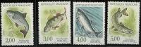 """FR YT 2663 à 2666 """" Nature De France  Poissons """" 1990 Neuf** - France"""
