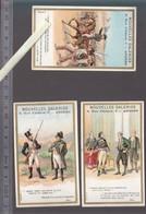 Chromos Fin XIXè - Lot De 3 - Histoire De France - Angers - Nouvelles Galeries - Napoleon  Bonaparte, Andrieux, - Autres