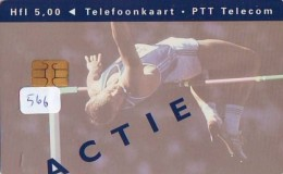 NEDERLAND CHIP TELEFOONKAART CRD 566 * ACTIE * Telecarte A PUCE PAYS-BAS ONGEBRUIKT MINT - Nederland