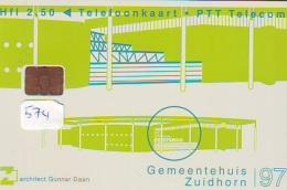 NEDERLAND CHIP TELEFOONKAART CRD 574 * GEMEENTEHUIS ZUIDHORN * Telecarte A PUCE PAYS-BAS ONGEBRUIKT MINT - Nederland