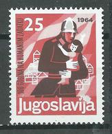 Yougoslavie YT N°972 Corps Des Pompiers Neuf ** - 1945-1992 República Federal Socialista De Yugoslavia
