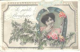 CPA - Thèmes - Fantaisies - Femmes - Portrait De Femmes - Le Porte Bonheur - Femmes