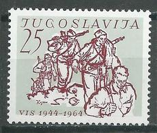 Yougoslavie YT N°981 Etat-major De L'ile De Vis Neuf ** - 1945-1992 República Federal Socialista De Yugoslavia