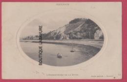 14 - HOULGATE---L'Embouchure De La Dives----Carte Bateau-- - Houlgate