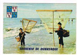 CPM (59) Dunkerque. Pêcheurs De Crevettes.   (B.454) - Dunkerque