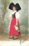 CPA - Thèmes - Fantaisies - Femmes - Portrait De Femmes - Costume Alsacien - Femmes