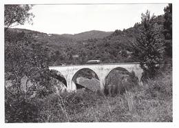 CPM VOIR DOS 30 Près De Sainte Cécile D'Andorge Vers Alès Train Autorail De Dion Sur Viaduc En 1961 - Alès