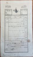 AS - Syria 1910 Ottoman Document Sanad Khakani - Liwa Lattaquie, Place Sahyou (Jewish District) - Syrië