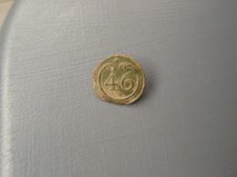 Bouton Plat  N° 46 , Petit Module.empire De Ligne - Buttons
