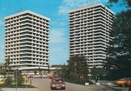 "Ford Consul,Opel Manta A,VW Käfer,Gelsenkirchen,Hotel ""Maritim"",gelaufen - Turismo"