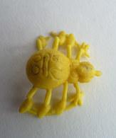 FIGURINE PUBLICITAIRE Chewing Gum ZENO 1982 - MAYA L'ABEILLE 10 Monochrome - Pas DUNKIN INCOMPLET - BIENE MAJA (3) - Figurines