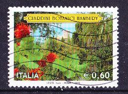 Italia 2010- Giardini I  -Usato-Frammento - 2001-10: Oblitérés