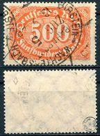 D. Reich Michel-Nr. 251 Vollstempel Bahnpost - Geprüft - Usados