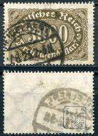 D. Reich Michel-Nr. 254a Gestempelt - Geprüft - Deutschland