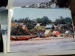 "Bulgaria: Department, Bezirk, Districkt BURGAS - Camping ""Zlatna Ribka"" By The Beach V1982 GU3325 - Bulgaria"