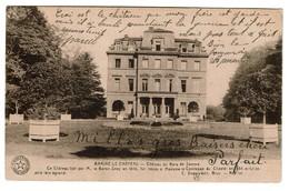 Braine-le-Château - Château Du Bois De Samme 1930 - Edit. Desaix - 2 Scans - Braine-le-Château