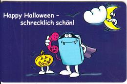 GERMANY(chip) - Happy Halloween(M 03), Tirage 82000, 09/01, Used - Deutschland
