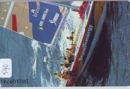 NEDERLAND CHIP TELEFOONKAART CRD 590 * Brunel IT * All Hands On Deck! * Telecarte A PUCE PAYS-BAS ONGEBRUIKT MINT - Nederland